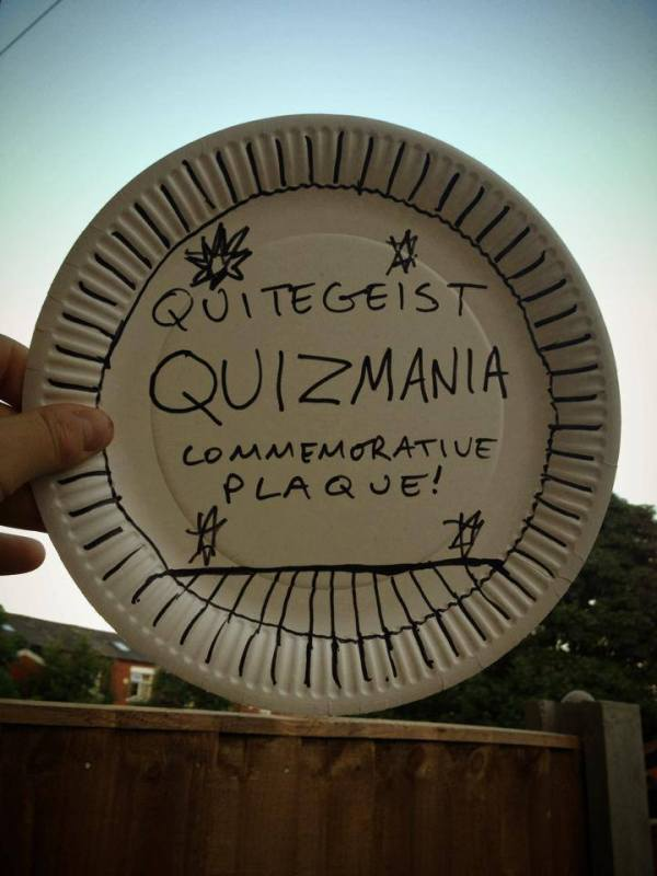 Quizmania: Coming Soon to Quitegeist